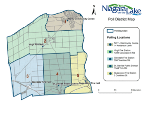 NOTL Poll District Map 2014