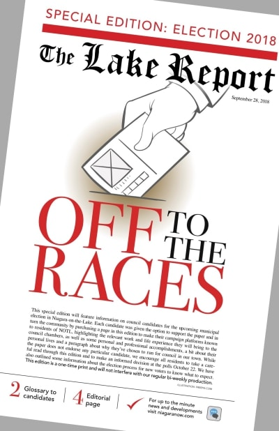 lake report election issue cover